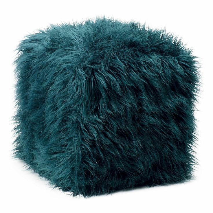 pouf chair faux fur efutro (10)