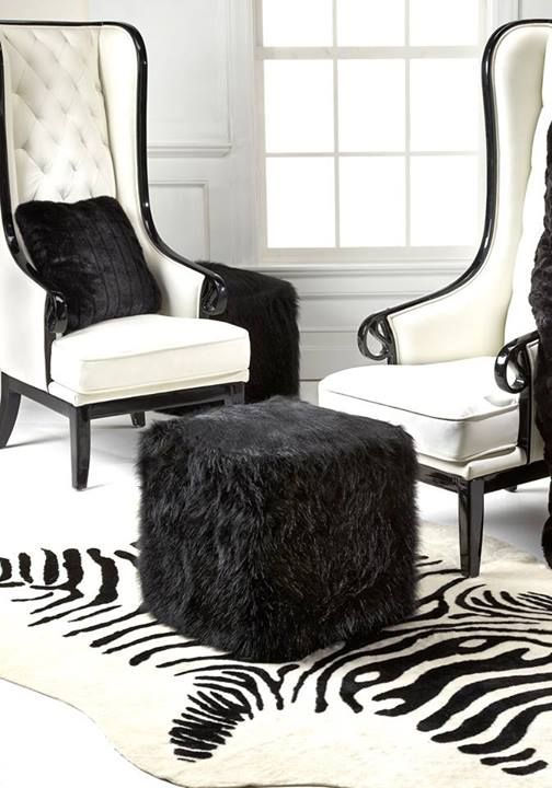 pouf chair faux fur efutro (13)