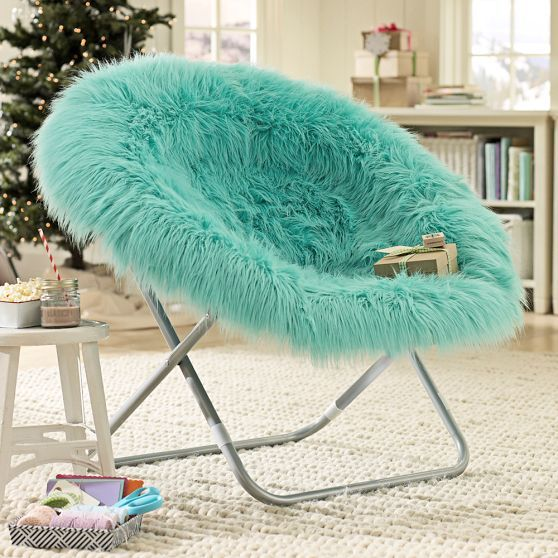 pouf chair faux fur efutro (2)