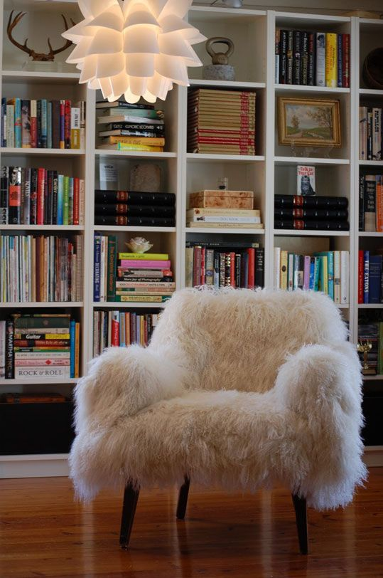pouf chair faux fur efutro (5)