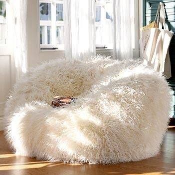 pouf chair faux fur efutro (8)