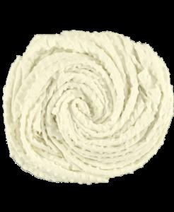 ecru 2 kropki kropki-białe-efutro-anza-blankie Minky Dots Velour minky dot Minky Fabric kropki (3)