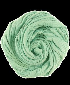 miętowe minky kropki-miętowy-efutro-anza-blankie Minky Dots Velour minky dot Minky Fabric kropeczki (3)